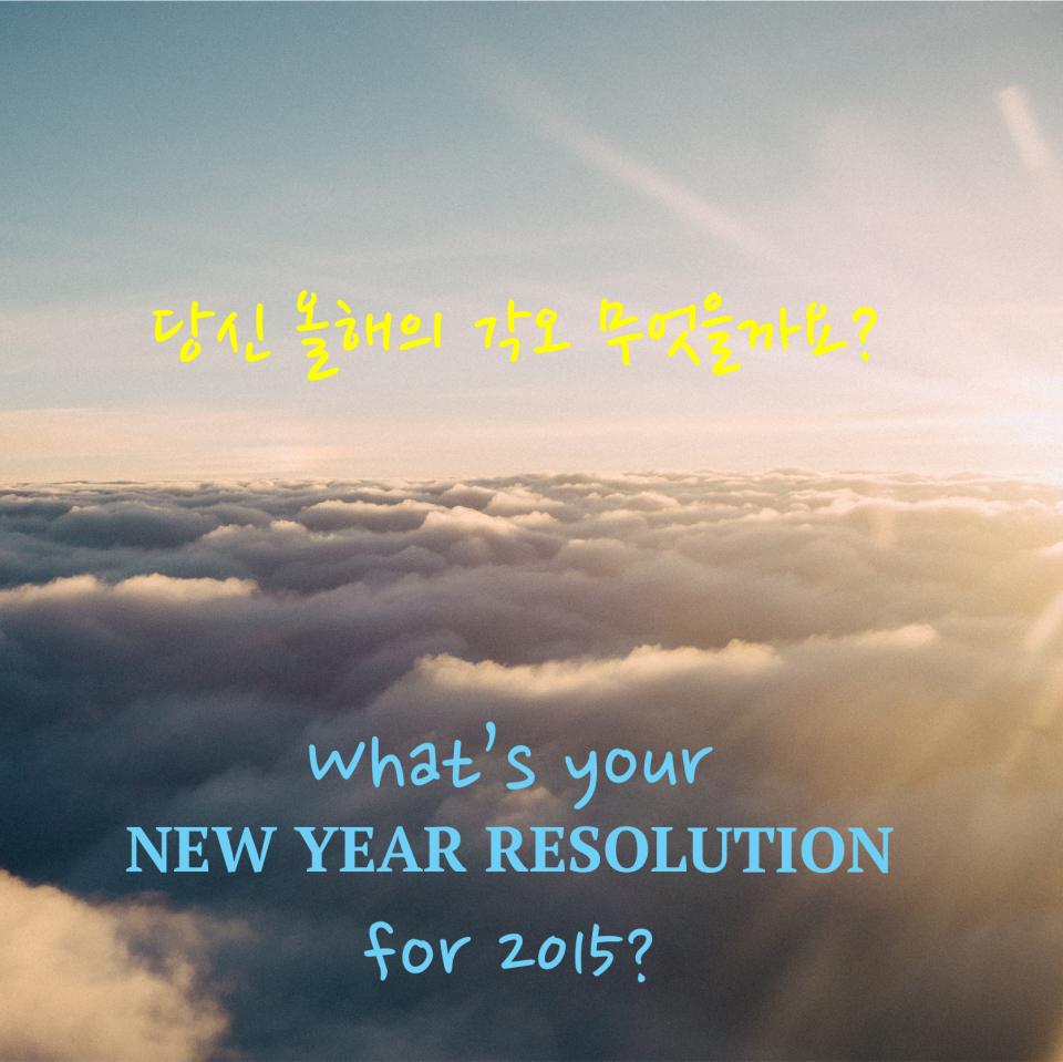 New Year Resolution 2015 small