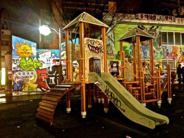 hongdae playground