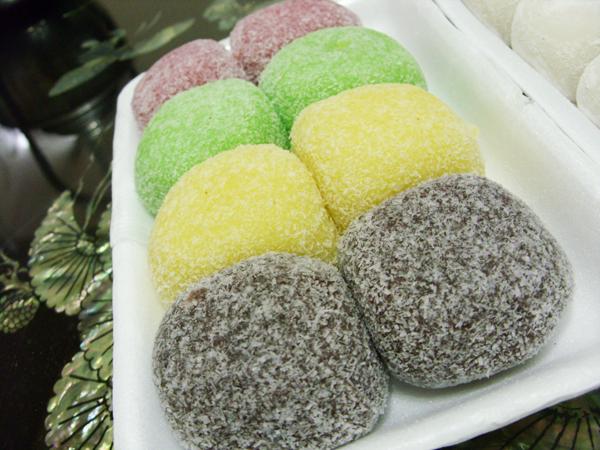 Korean Sesame Rice Cakes