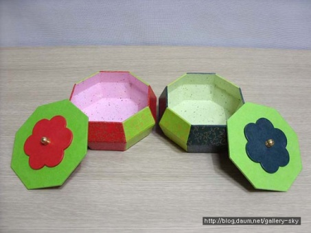 Hanji jewelry box