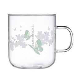Butterfly Glass Mug
