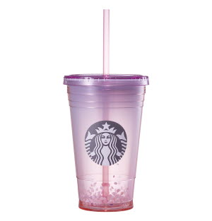 cherry blossom cold cup